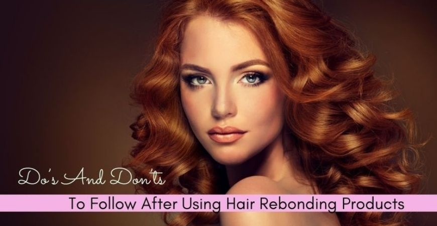 hair rebonding products